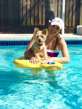 Dog Pool Float